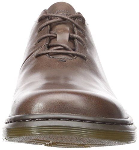 Brown de Illusion III Zapatos Oily Mujer Cordones Dark Dr Dark Brown Martens Marrón Lorrie para New Oxford pxzR0qaw