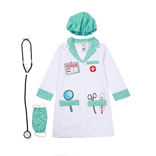 Wizland Child Role Play Dress Up Doctor Costume