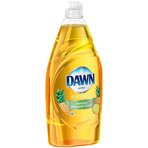 Dawn Ultra Hawaiian Pineapple Dishwashing Liquid, 21.6 Fl Oz