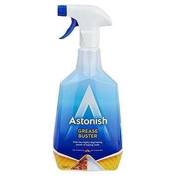 Limpiador de grasa Buster desengrasante el poder de bicarbonato 750 ml libre rápido P y p: Amazon.es: Hogar