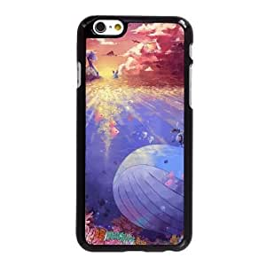 HD exquisite image for iPhone 6 plus 5.5 inch Cell Phone Case Black pokemon in the sea AMI6476612