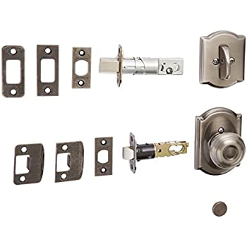 Schlage Lock Company F59geo605cam Polished Brass Georgian