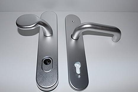 BKS hogar Puerta para cerraduras Rondo aluminio F1 con ...