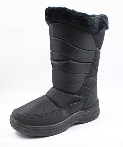 sizes Boots all Womens in Black Snow Available Weather Winter Cold Mobesano qSX4zww