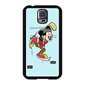 Funky Micky Mouse Cartoon Anime Comics Character Disney for girls Theme Design Hard Plastic Durable Snap on Accessories Protective Case Cover for Samsung Galaxy S5 by ruishername