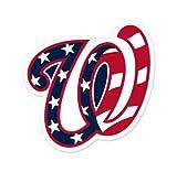 "Washington Nationals MLB car bumper sticker decal (5"" x 5"")"