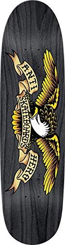 Anti Hero Shaped Eagle II Skate Deck-8.5x31.7 Black Widow w/Mob Grip (Hero Eagle Anti)