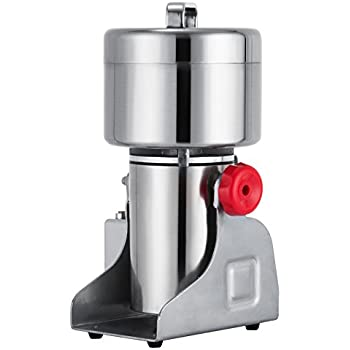 Amazing Happybuy Grain Grinder 500g Mill Powder Machine Swing Type Commercial  Electric Grain Mill Grinder For Herb