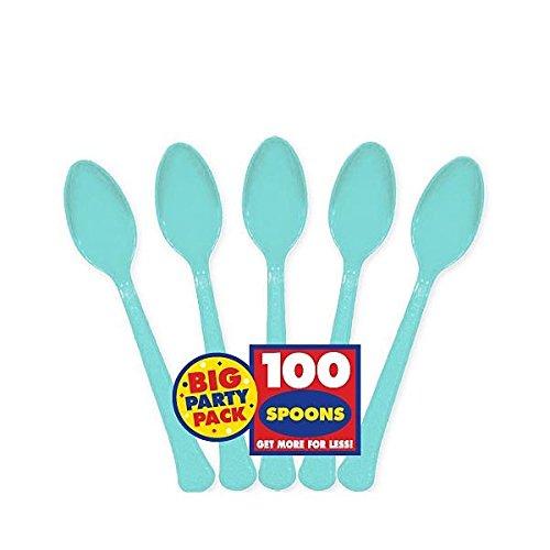 egg spoons plastic - 1
