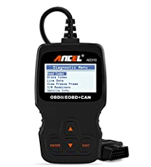 ANCEL AD310 Scanner works on MOST 1996 US-Based, 2000 EU-Based and Asian cars, and newer OBD II & CAN domestic or import vehicles (MUST BE OBDII PROTOCOL). It's a powerful, affordable, easiest to operate and scan much faster than any Blue...