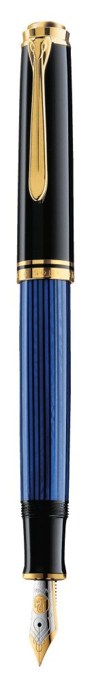 Pelikan Premium M400 Fountain Pen EF-Black/Blue