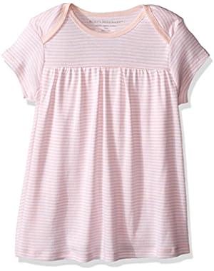 Girls' Organic Lap Shoulder Bodysuit Dress