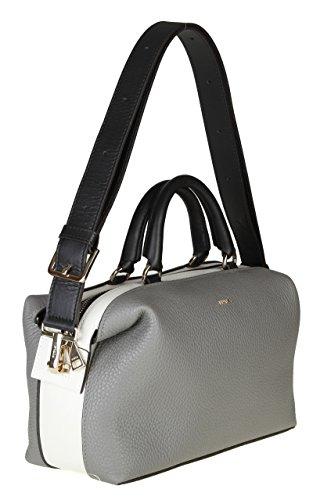 Damen Furla Handtaschen Leder Grau 902782 YnOORqgd