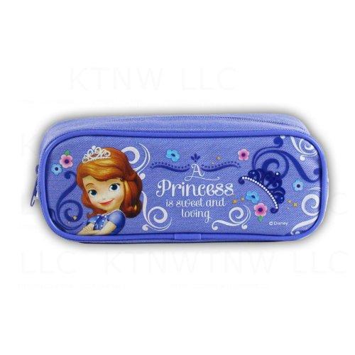 Mirage Officially Licensed Disney Single Zipper Pouch Pencil Case - Princess Sophia ()
