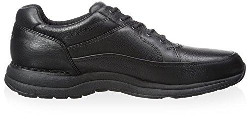 Rockport Mens Edge Hill Walking Shoe- Tumble Black Leather 2Fjx0L8