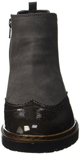 Jenny Women's Portland-St Chelsea Boots Schwarz (Grau,graphit)