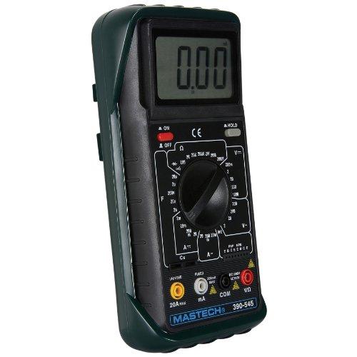 Parts Express Digital Multimeter Dmm With Convenient Tilt