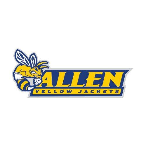 Allen University Medium Decal 'Official Logo' by CollegeFanGear