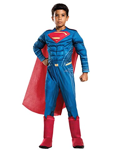 justice+league Products : Rubie's Costume Boys Justice League Deluxe Superman Costume