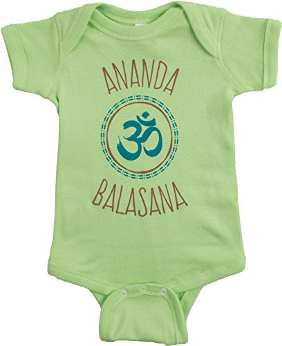 Ananda Balasana (Happy Baby) | Funny Yoga Pose Mom Dad Parent Infant One ()