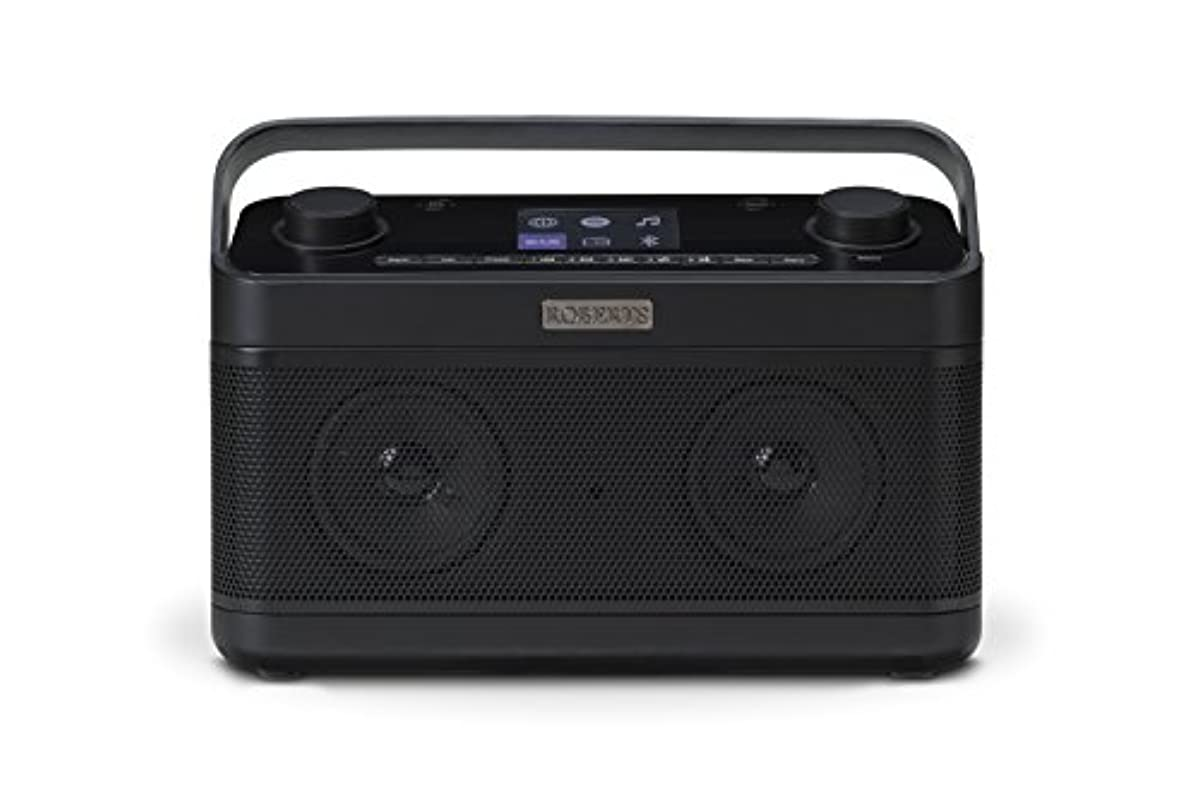 roberts radio stream 218 schwarz internet radio mit dab. Black Bedroom Furniture Sets. Home Design Ideas