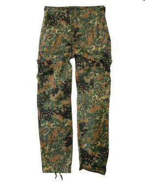 Mil-Tec Flecktarn Camo Range BDU Style Field Pants - Camo Pant Field