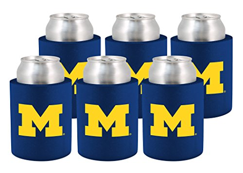 NCAA Michigan Wolverines Phoozie Set, 6-Pack, ()