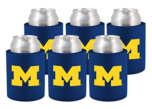 NCAA Michigan Wolverines Phoozie Set, 6-Pack, ()