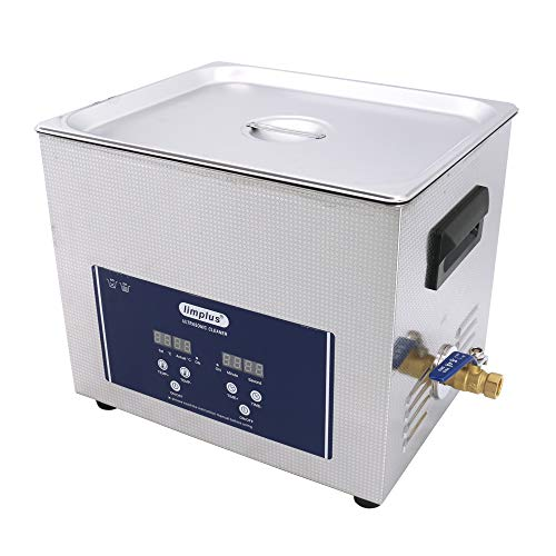 (limplus 2.8Gallon LS-10D Table Top Ultrasonic Cleaner Sonicator for Automotive Parts Weapons SUS304)