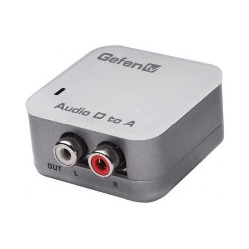 Gefen - gtv-digaud-2-aaud - tv digital audio to analog ada
