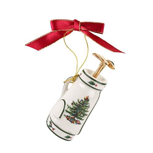Spode Christmas Tree Ornament, Golf Bag ()