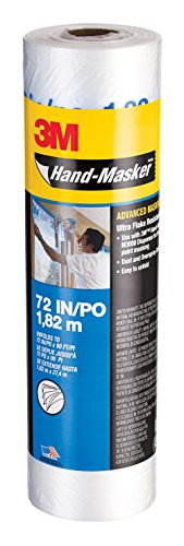 3M Hand-Masker Advanced Masking Film, 72-Inch x 90-Feet, 12-Roll Case Pack (AMF72) by 3M (Image #8)