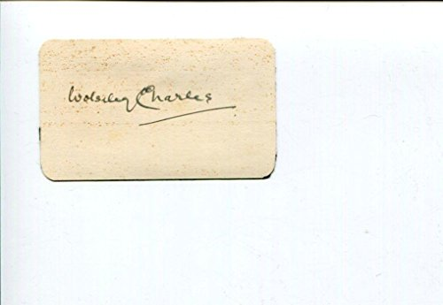 (Wolseley Charles Classical Music Composer Signed)