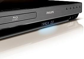 Philips HTS7540 5.1 Blu ray Heimkino System (USB 2.0, HDMI, DivX Ultra, Radio, 1000 Watt, Lautsprecher Glasfüße) schwarz