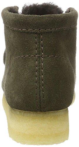 Clarks Originals Damen Wallabee Boot. Stiefel Braun (peat Suede)