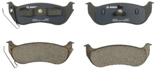 Bosch BP964 QuietCast Premium Semi-Metallic Disc Brake Pad Set For Select Ford Explorer, Explorer Sport Trac; Jeep Liberty, TJ, Wrangler; Mercury Mountaineer; ()