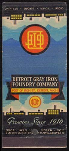 Detroit Gray Iron Foundry Lektrokast Cauldron Detroit MI feature ()