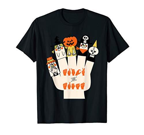 Sign Language Halloween Games (Trick Or Treat Asl Halloween Sign Language Gifts)