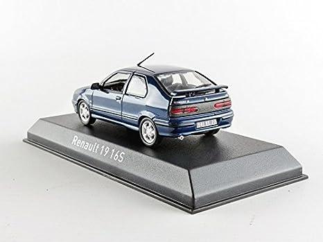 Norev - 511907 - Renault 19 16S Phase 2 - 1992 - Escala 1/43 - Azul: Amazon.es: Juguetes y juegos
