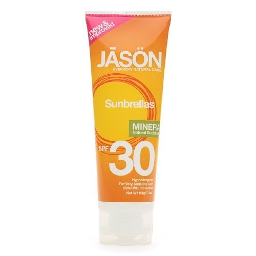 Jason Mineral Based Sunscreen Lotion SPF 30 4oz (Pack Of 4)
