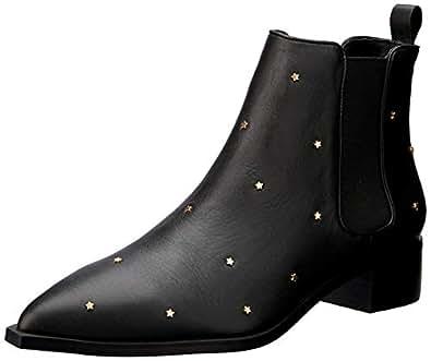 Senso Women's Leah Fashion Boot, Ebony, 35 EU