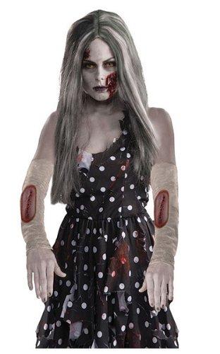 [Ladies Zombie Arm Sleeves] (Zombie Arm Sleeves)