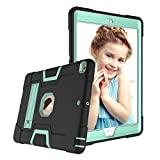 New iPad 10.2 Case 2019, DOOGE Three Layers Armor Defender Heavy Duty Shock-Absorption Anti-Scratch Rugged Hybrid Protective Case with Kickstand for iPad 10.2 inch 7th Generation