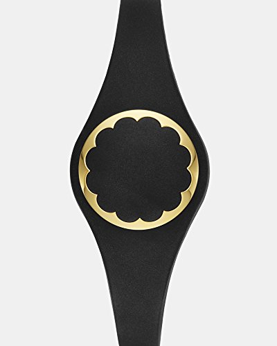 kate spade new york black scallop activity tracker