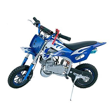 moto cross 1120x660x800mm KENROD Moto Cross di benzina Mini Moto Motocross 2 tempi di 49 cc