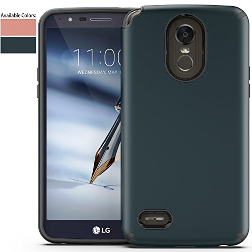 LG Stylo 3 Case,LG Stylo 3 Plus Case,LG Stylus 3 Case with HD Screen Protector,NiuBox Cool Armor Defender Dual Layer Hybrid Shock Absorption Protective Phone Case Cover for LG LS777 (Shock Absorption Glove Gloves)