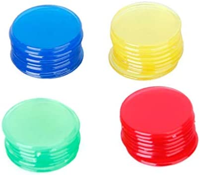 TOYANDONA 400 stks Plastic tellen tellers Games Pro Count Bingo Chips Markers voor Bingo Game Cards