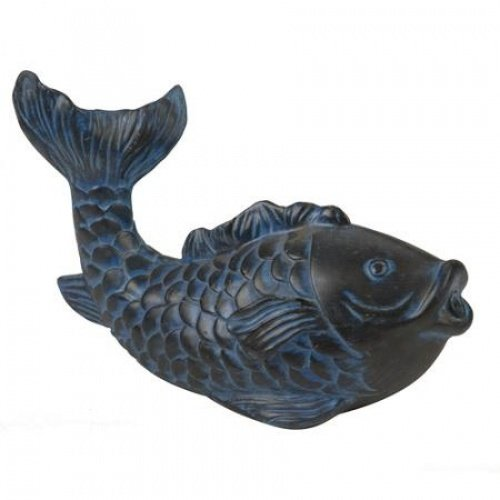 (AQUANIQUE 52542 Fish Spitter Blue, Black)