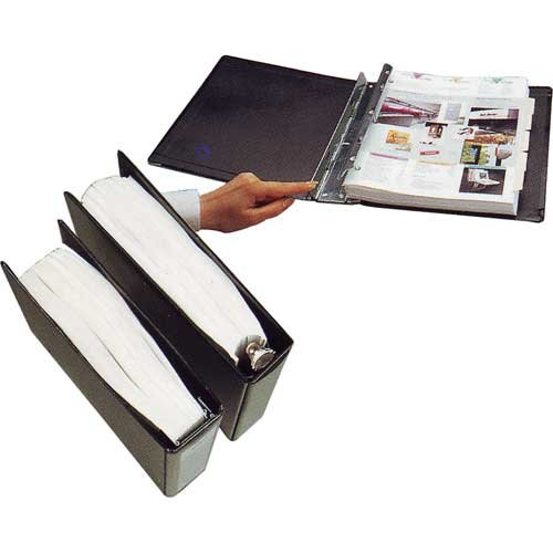 ProFolio by Itoya, SpringPost Binder - 5 Interchangeable Color-Coded Spines and 5 Tabbed Dividers , 2'' Paper Capacity by ProFolio by Itoya