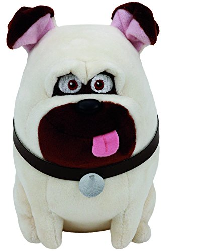 Party Costume Pug (Ty Beanie Babies Secret Life of Pets Mel The Dog Regular)